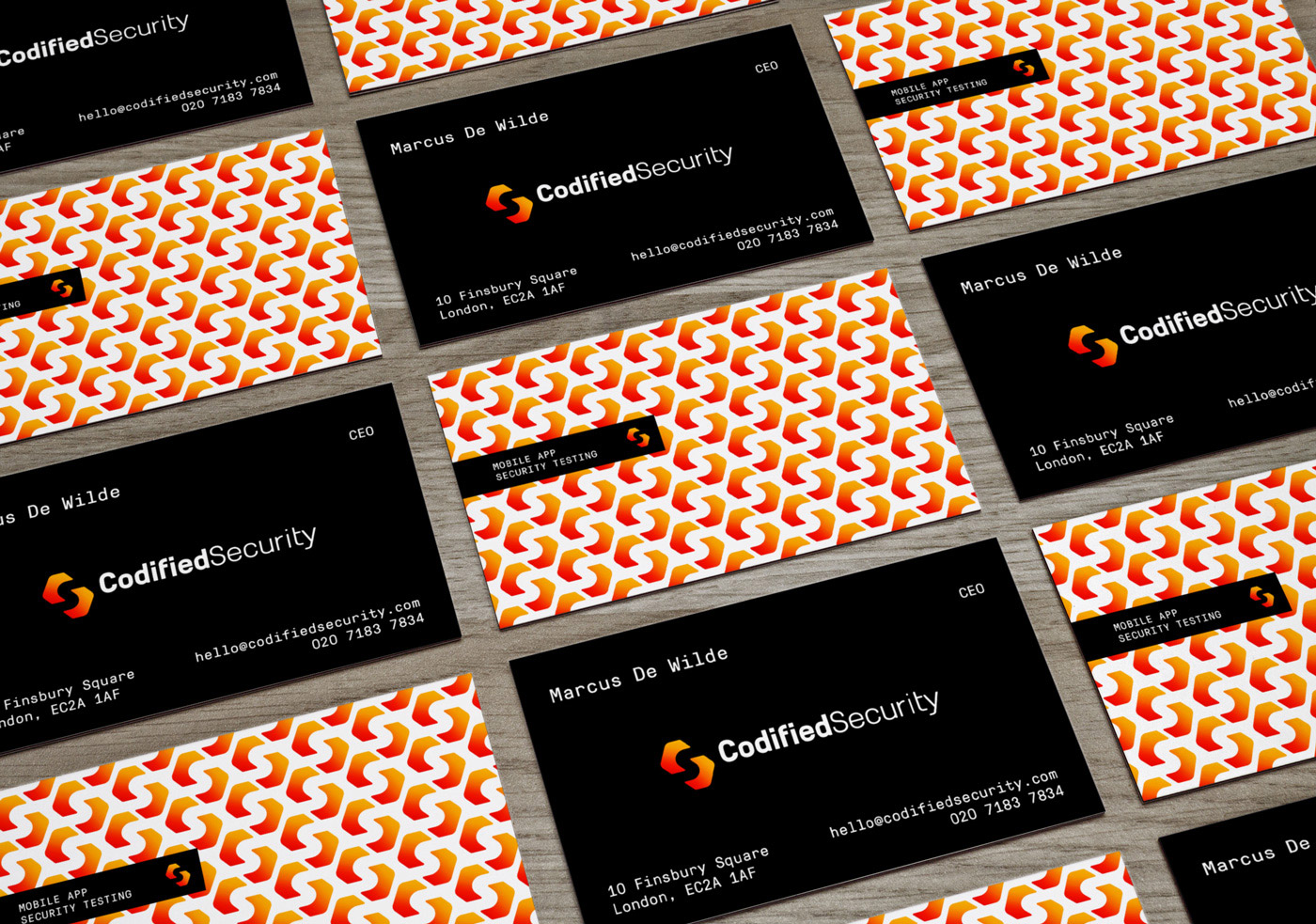 Codified Security - Cards
