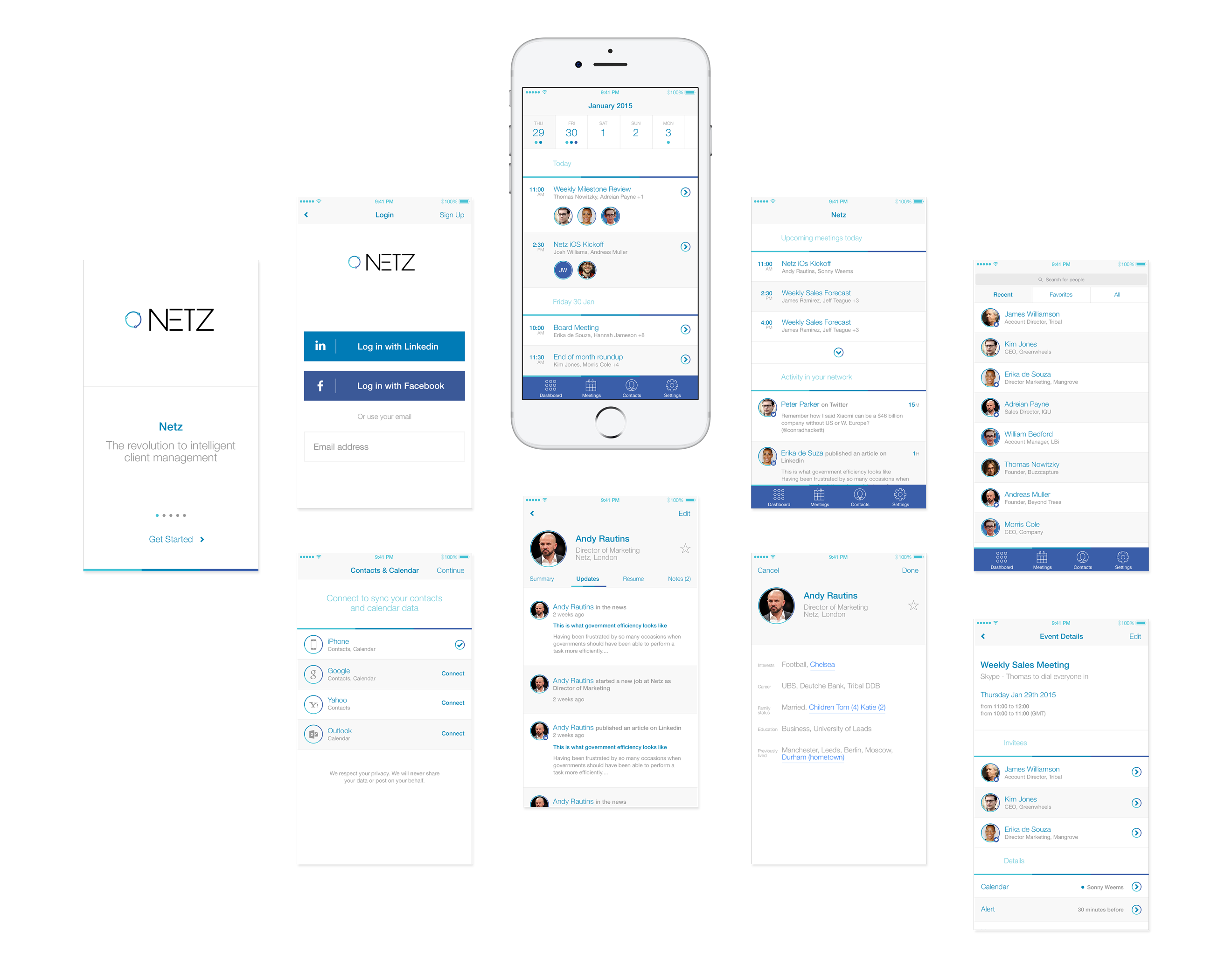 Netz - Screens