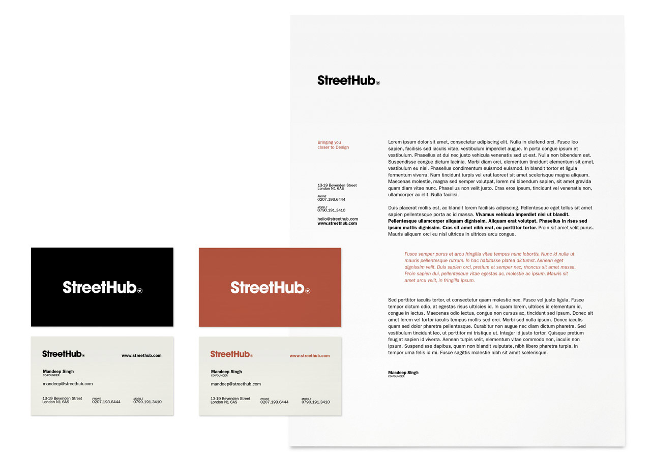 Streethub - Stationary