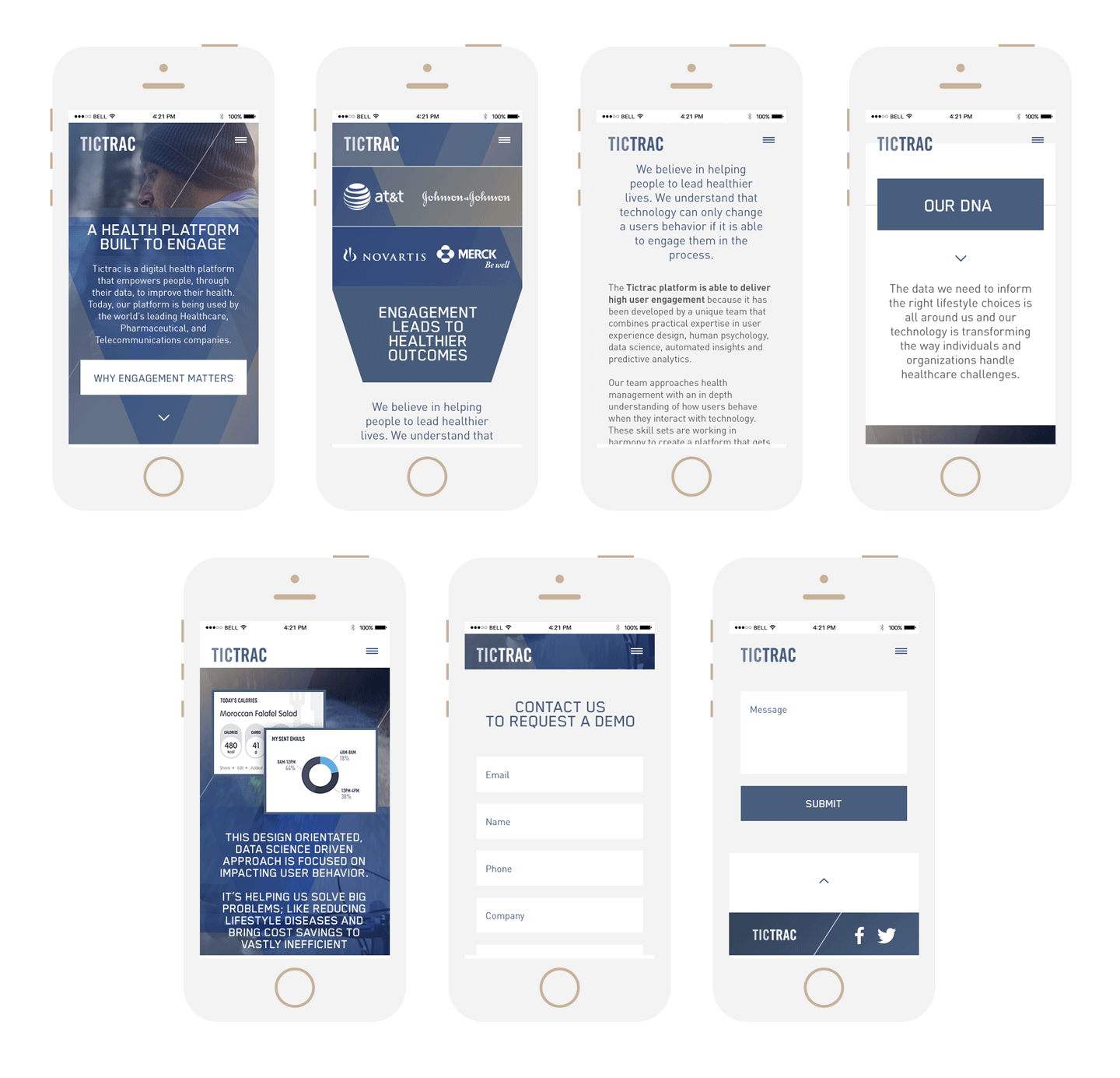 Tictrac - Mobile Version
